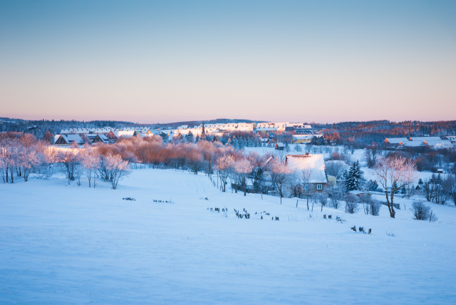 Blick auf Altenberg
