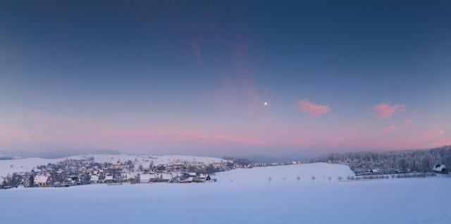 Winter-Panorama Hinterhermsdorf