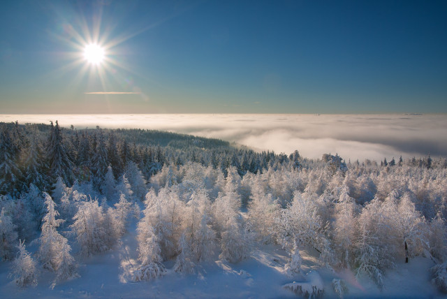 Inversionswetterlage, Cínovec