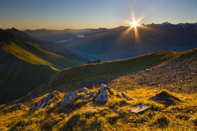 Sonnenaufgang am Hohniesen