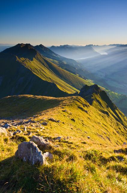 Nördliche Niesenkette, gesehen vom Hohniesen