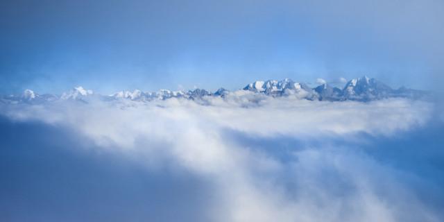 Über den Wolken am Mäggisserenhorn