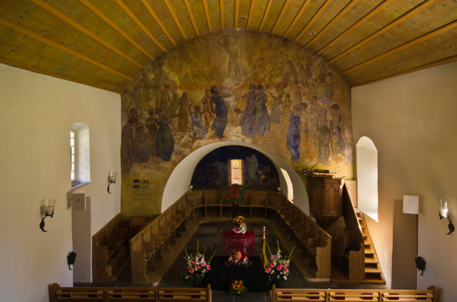 In der Kirche Diemtigen