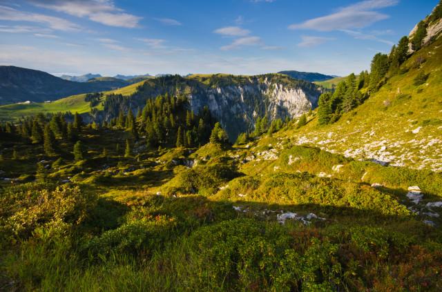 Auf dem Weg vom Seebergsee zum Seehorn