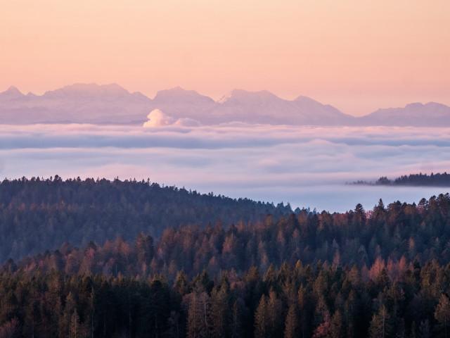 Alpenblick bei Ibach