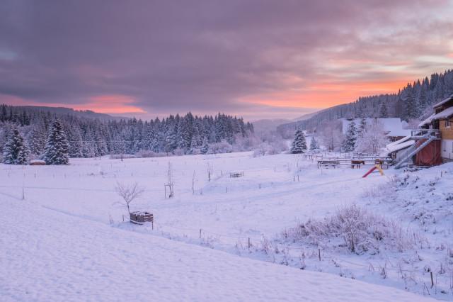 Winterlandschaft, Hinterzarten-Winterhalde