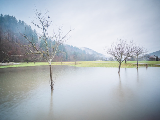 Hochwasser im Wiesental
