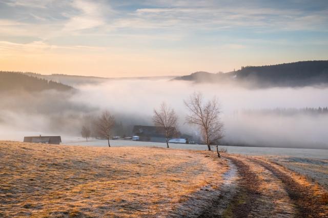 Morgenstimmung bei Rudenberg
