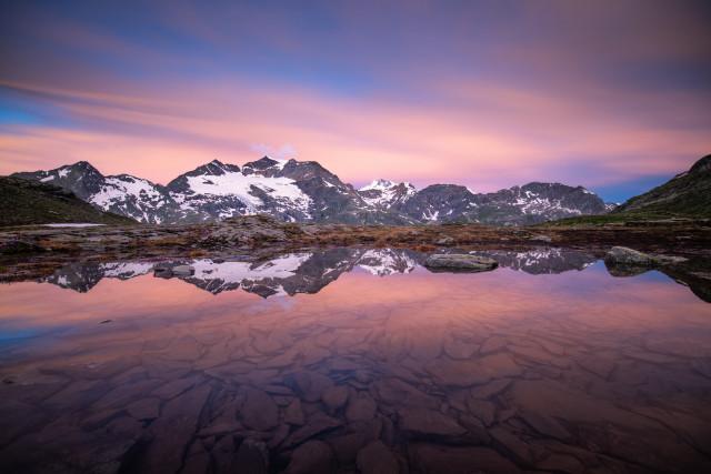 Berninablick vom Val dal Bügliet