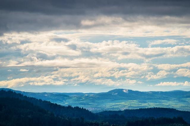 Blick aus dem Zastlertal zum Kaiserstuhl